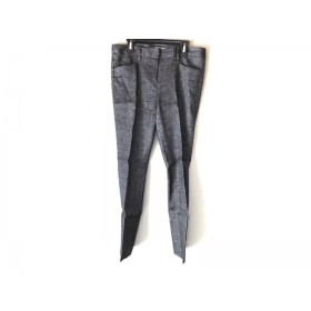 【中古】 セオリーリュクス theory luxe パンツ サイズ38 M レディース グレー 黒 白