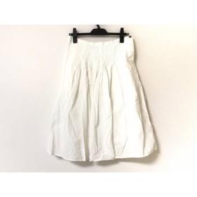 【中古】 グランマママドーター GRANDMA MAMA DAUGHTER スカート サイズ1 S レディース 美品 白