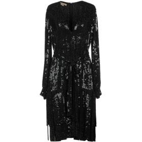 《セール開催中》MICHAEL KORS COLLECTION レディース ミニワンピース&ドレス ブラック 4 シルク 100%