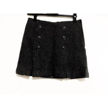 【中古】 ピンキー&ダイアン Pinky & Dianne ミニスカート サイズ38 M レディース ダークグレー