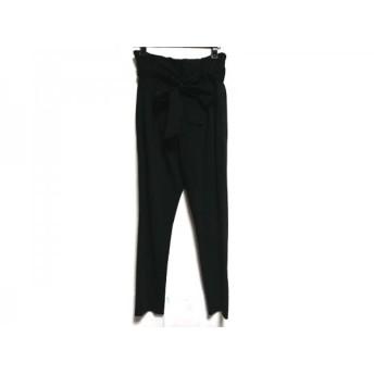 【中古】 ピンキー&ダイアン Pinky & Dianne パンツ サイズ38 M レディース 黒 リボン