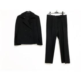 【中古】 ダックス DAKS レディースパンツスーツ サイズ40 L レディース ダークグレー