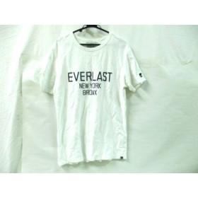 【中古】 ノーブランド 半袖Tシャツ サイズM メンズ 白 ネイビー