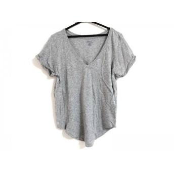 【中古】 ポロラルフローレン POLObyRalphLauren 半袖Tシャツ サイズM メンズ グレー