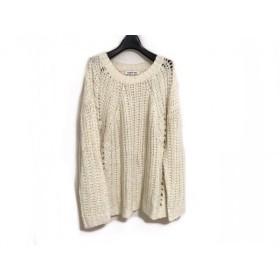 【中古】 エリザベスアンドジェームス 長袖セーター サイズXS レディース アイボリー 透け感あり