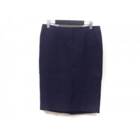 【中古】 アドーア ADORE スカート サイズ36 S レディース ダークネイビー