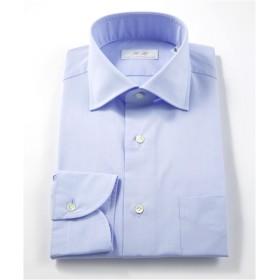 [シャツ]ダブルエイチ ドレスシャツ HH7A-W-007 サックス シャンブレー 40-84