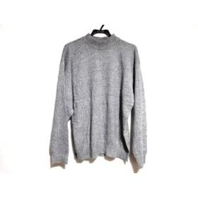 【中古】 オールドイングランド 長袖セーター サイズXL メンズ グレー ライトグレー タートルネック