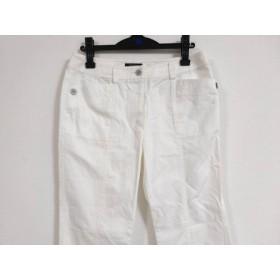 【中古】 バーバリーロンドン Burberry LONDON パンツ サイズ13 L レディース 白