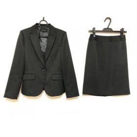 【中古】 エスプリミュール ESPRITMUR スカートスーツ サイズ9 M レディース 黒