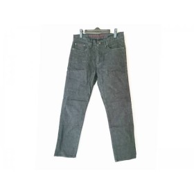 【中古】 ブラックレーベルクレストブリッジ ジーンズ サイズ73 メンズ ダークネイビー イニシャル刺繍