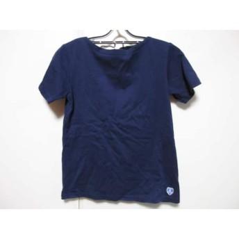 【中古】 オーシバル ORCIVAL 半袖Tシャツ サイズ1 S レディース ネイビー