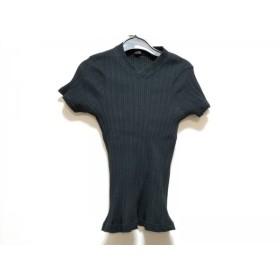 【中古】 ワイズ Y's 半袖カットソー レディース 黒 ハイネック