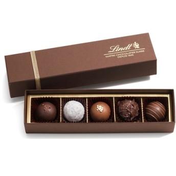 リンツ Lindt チョコレート チョコ スイーツ ギフト トリュフ ギフトボックス 5個入り