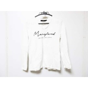 【中古】 アズールバイマウジー AZUL by moussy 長袖Tシャツ サイズS レディース 白