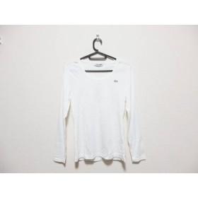 【中古】 ラコステ Lacoste 長袖Tシャツ サイズ36 S レディース 白
