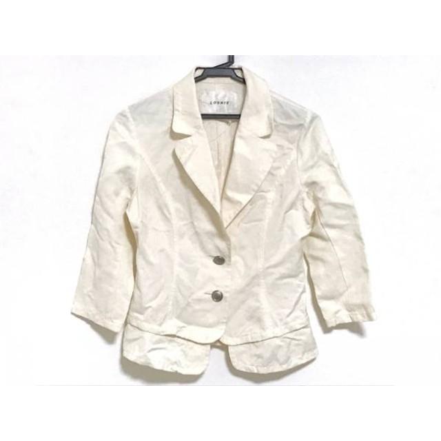 【中古】 ルーニィ LOUNIE ジャケット サイズ38 M レディース 白