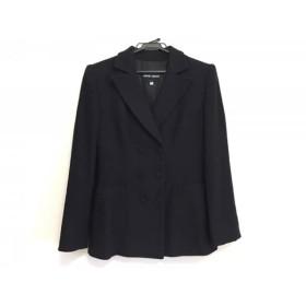 【中古】 ジョルジオアルマーニ ジャケット サイズ40 M レディース ダークネイビー 肩パッド