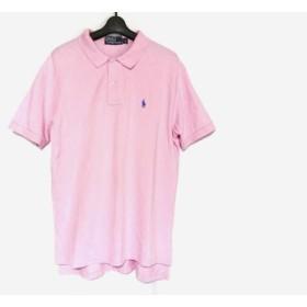 【中古】 ポロラルフローレン POLObyRalphLauren 半袖ポロシャツ メンズ ピンク