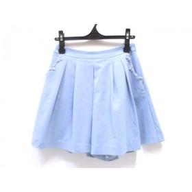 【中古】 ノーブランド ミニスカート サイズM レディース ブルー