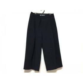 【中古】 ルシェルブルー LE CIEL BLEU パンツ サイズ36 S レディース ダークネイビー