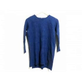 【中古】 ユナイテッドアローズ 長袖セーター レディース ブルー Sporting&Style./GREEN LABEL RELAXING