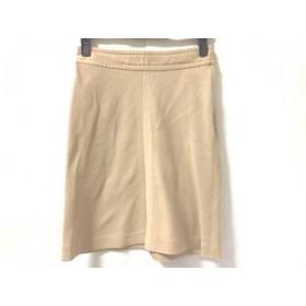 【中古】 バーバリーブルーレーベル Burberry Blue Label スカート サイズ36 S レディース ベージュ 綿