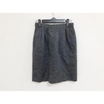 【中古】 フォクシー FOXEY スカート サイズ40 M レディース グレー