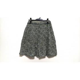 【中古】 マッキントッシュフィロソフィー スカート サイズ38 L レディース マルチ 花柄/フリル