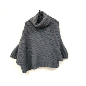 【中古】 セオリー theory 長袖セーター サイズ2 S レディース グレー タートルネック