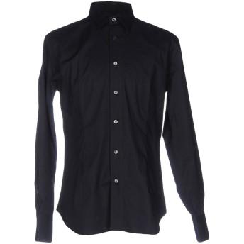 《セール開催中》FUTURO メンズ シャツ ダークブルー XL コットン 96% / ポリウレタン 4%
