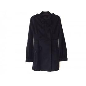 【中古】 スライ SLY コート サイズS レディース 美品 黒 冬物