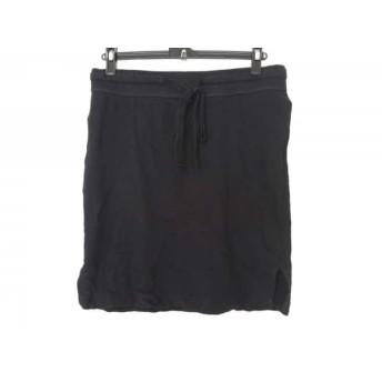 【中古】 ジェームスパース JAMES PERSE スカート サイズ0 XS レディース 黒