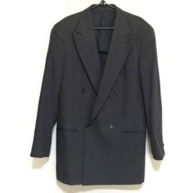 【中古】 アルマーニコレッツォーニ ARMANICOLLEZIONI ジャケット メンズ 黒 肩パッド