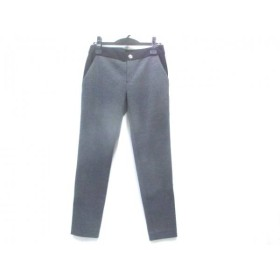 【中古】 アルファエー aA パンツ サイズ38 M レディース チャコール 黒