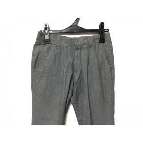 【中古】 トゥモローランド TOMORROWLAND パンツ サイズ44 L レディース グレー