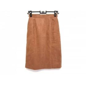 【中古】 マイストラーダ Mystrada スカート サイズ36 S レディース 美品 ライトブラウン