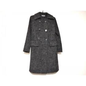 【中古】 ジェイフェリー J.FERRY コート サイズ40 M レディース グレー 黒 冬物
