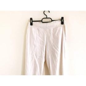【中古】 ダブルスタンダードクロージング DOUBLE STANDARD CLOTHING パンツ サイズ38 M レディース 白
