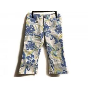 【中古】 レディ Rady パンツ サイズXS レディース 白 ブルー マルチ