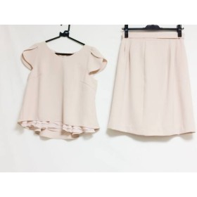 【中古】 アプワイザーリッシェ スカートセットアップ サイズ2 M レディース ピンク フリル