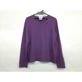 3900cf4a578b 【中古】 シャネル CHANEL 長袖セーター サイズ46 XL レディース 美品 パープル カシミヤ