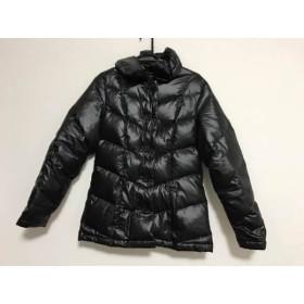 【中古】 カルバンクラインジーンズ Calvin Klein Jeans ダウンコート サイズL レディース 黒 冬物