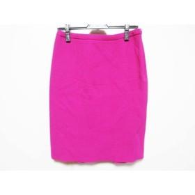 【中古】 アルマーニコレッツォーニ ARMANICOLLEZIONI スカート サイズ40 M レディース ピンク