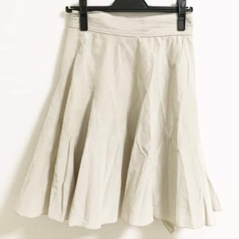 【中古】ボディドレッシングデラックス 巻きスカート サイズ38 M レディース ライトグレー