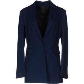 《セール開催中》JIJIL レディース テーラードジャケット ブルー 40 ポリエステル 65% / レーヨン 30% / ポリウレタン 5%