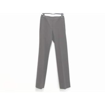 【中古】 ランバンコレクション LANVIN COLLECTION パンツ サイズ38 M レディース ダークブラウン
