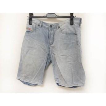 【中古】 ディーゼル DIESEL ハーフパンツ サイズ30 XS レディース - ブルー