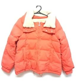 【中古】 アーノルドパーマー ARNOLD PALMER ダウンジャケット レディース オレンジ ベージュ 冬物