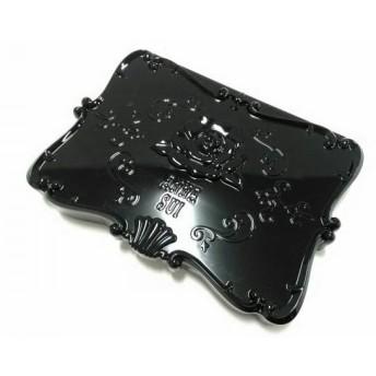 【中古】 アナスイ ANNA SUI 小物 美品 黒 油取り紙/ミラー付き プラスチック ペーパー